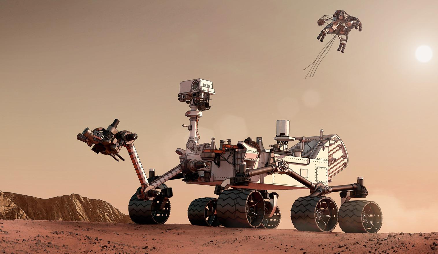 where on mars rover curiosity - photo #21